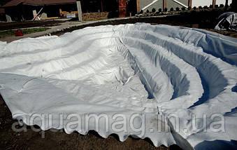 Геотекстиль ЛавсанГео (Беларусь) 100 г/м2 (полотно нетканое, полиэфирное, иглопробное для дренажа, пруда), фото 2