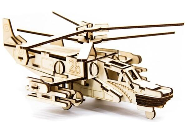 Конструктор Вертолет Хокум - деревянный игровой набор