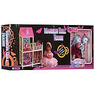 Детский игрушечный кукольный домик с куклами  MH Monster High | дом для кукол Монстр Хай, фото 4