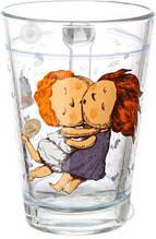 Стеклянная чашка 260 мл для чая, горячих напитков UniGlass Gapchinska Зефир