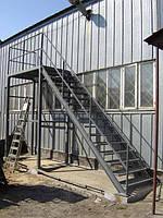 Однопролётная Пожарная Лестница №3 наружная
