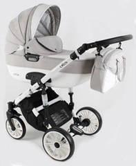 Детская коляска универсальная 3 в 1 Adbor Ottis White Ow-03 (Адбор Оттис, Польша)