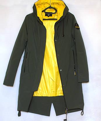 Куртка подовжена жіноча весна осінь (S-L), фото 3