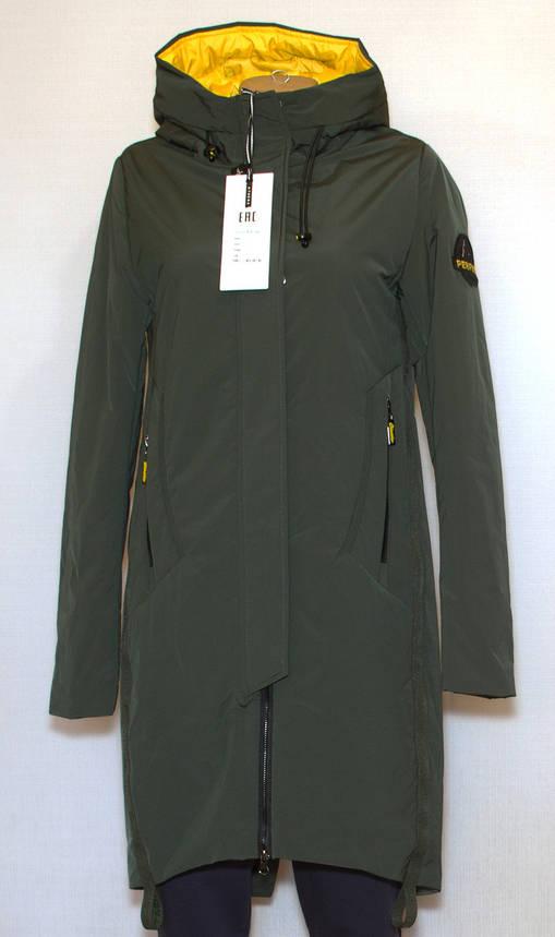 Куртка подовжена жіноча весна осінь (S-L), фото 2