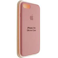 "Чехол Silicon iPhone 8 - ""Нежно-розовый №12"""
