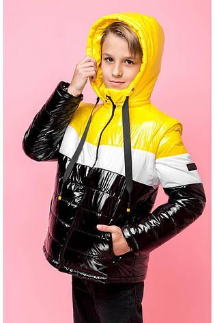 Детская  демисезонная куртка для мальчика, рукава отстегиваются vkm7, 128-164р., фото 2