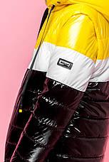Детская  демисезонная куртка для мальчика, рукава отстегиваются vkm7, 128-164р., фото 3