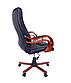 """Офісне комп'ютерне крісло PRESIDENT Premier 8005 ЧОРНЕ """"Еко шкіра"""" ПОЛЬЩА, фото 6"""