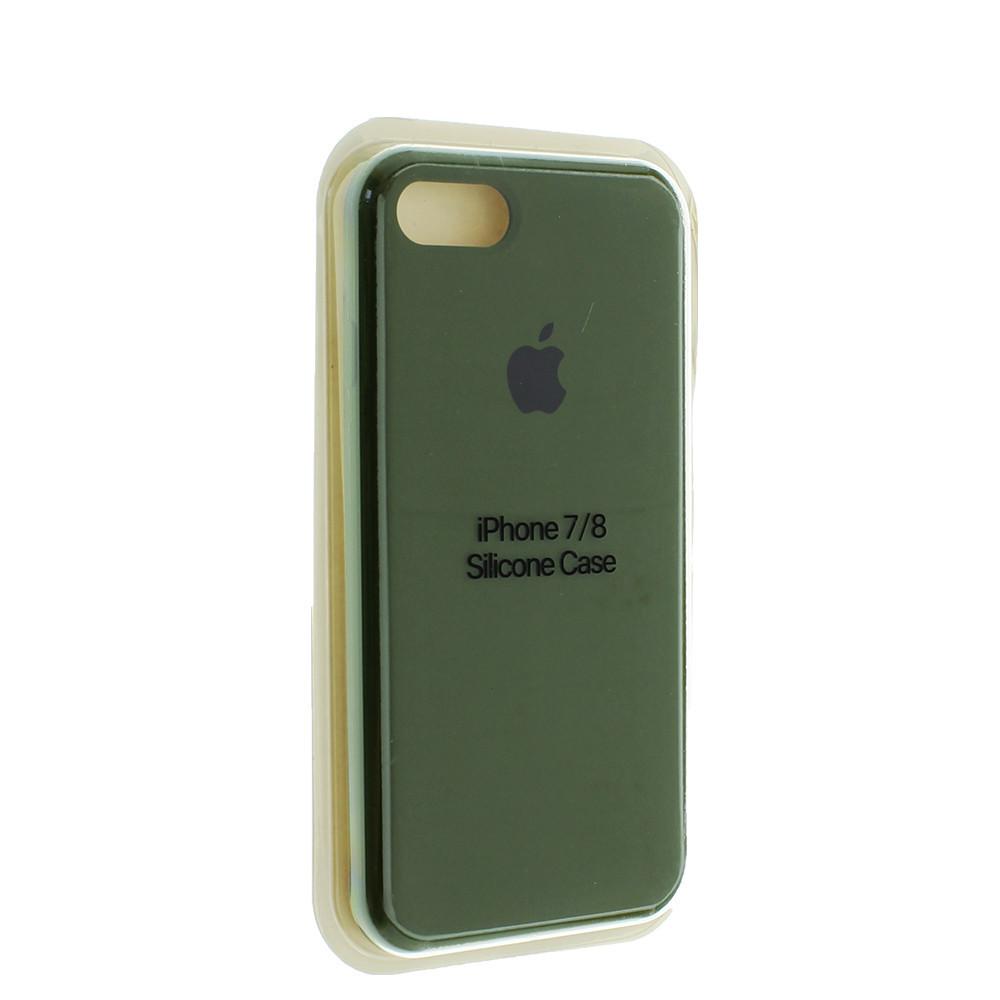 """Чехол Silicon iPhone 8 - """"Хаки №48"""""""