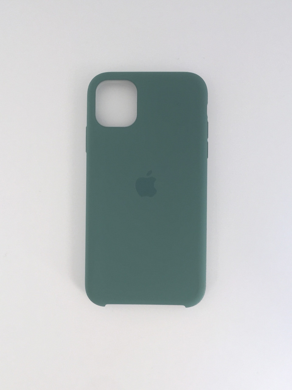 "Чехол Silicon iPhone 8 - ""Pine green №58"""