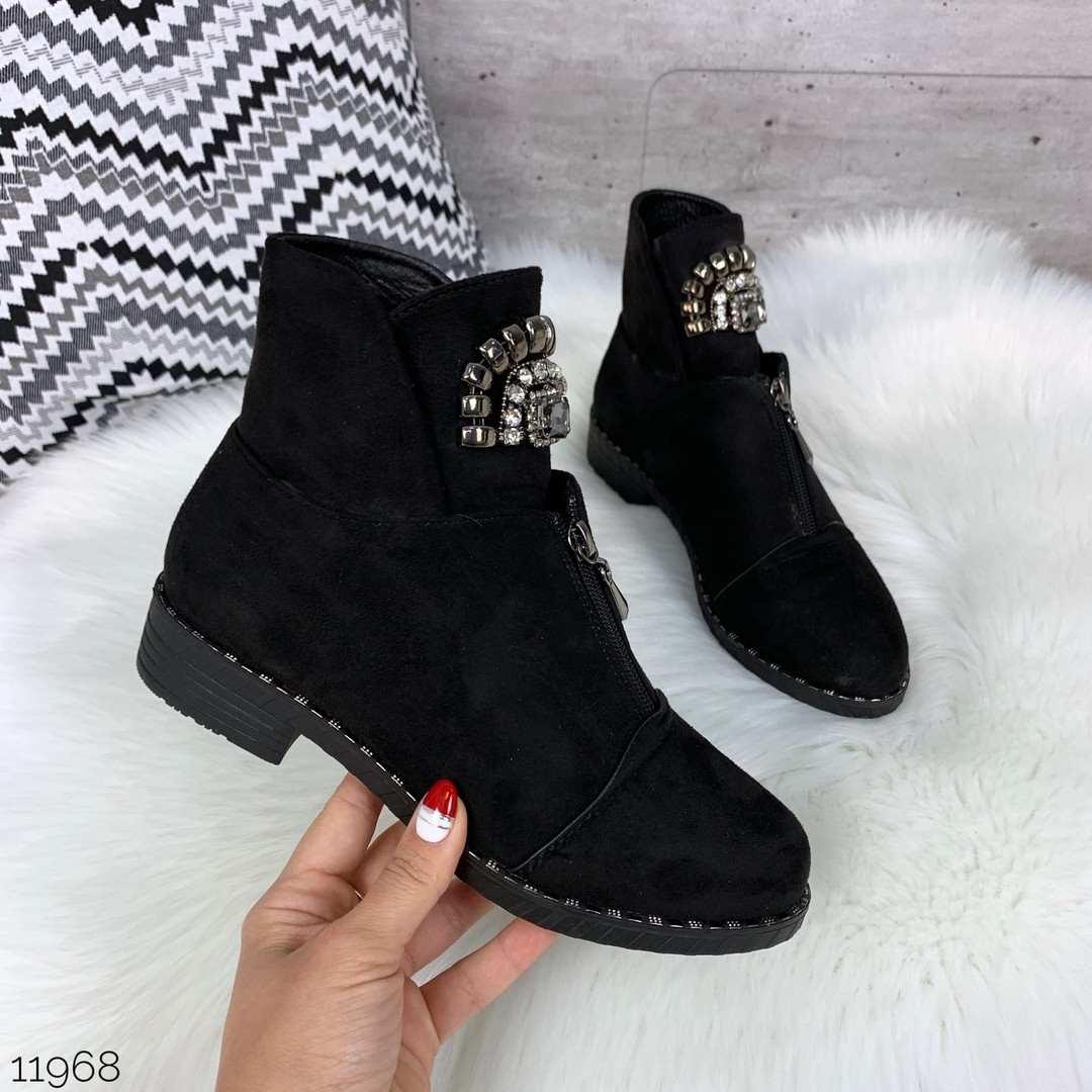 Красивые осенние ботинки