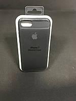 Чехол накладка Case защитный бампер для телефона Iphone 7 Soft touch черный