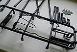 Велосипедний Багажник універсальний 24-29 колеса, фото 8