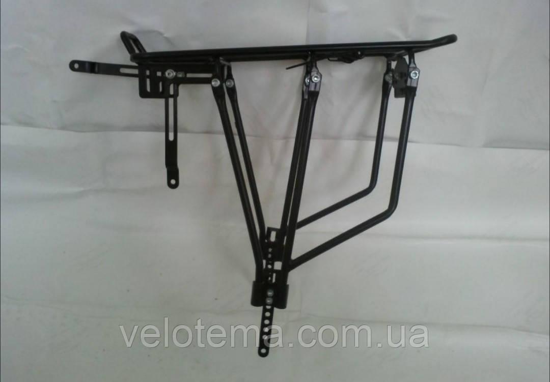 Велосипедний Багажник універсальний 24-29 колеса