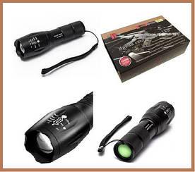 Тактичний Ліхтарик Police (поліція) BL-1831-T6 158000W ліхтарі ручні для полювання та риболовлі