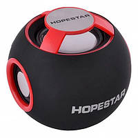 Портативная Bluetooth колонка Hopestar H46 ФМ, MP3, USB Красная