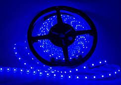 Светодиодная лента LED 3528 Blue 60 12V в силиконе