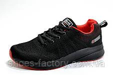Кроссовки унисекс Baas, Black\Red, фото 2