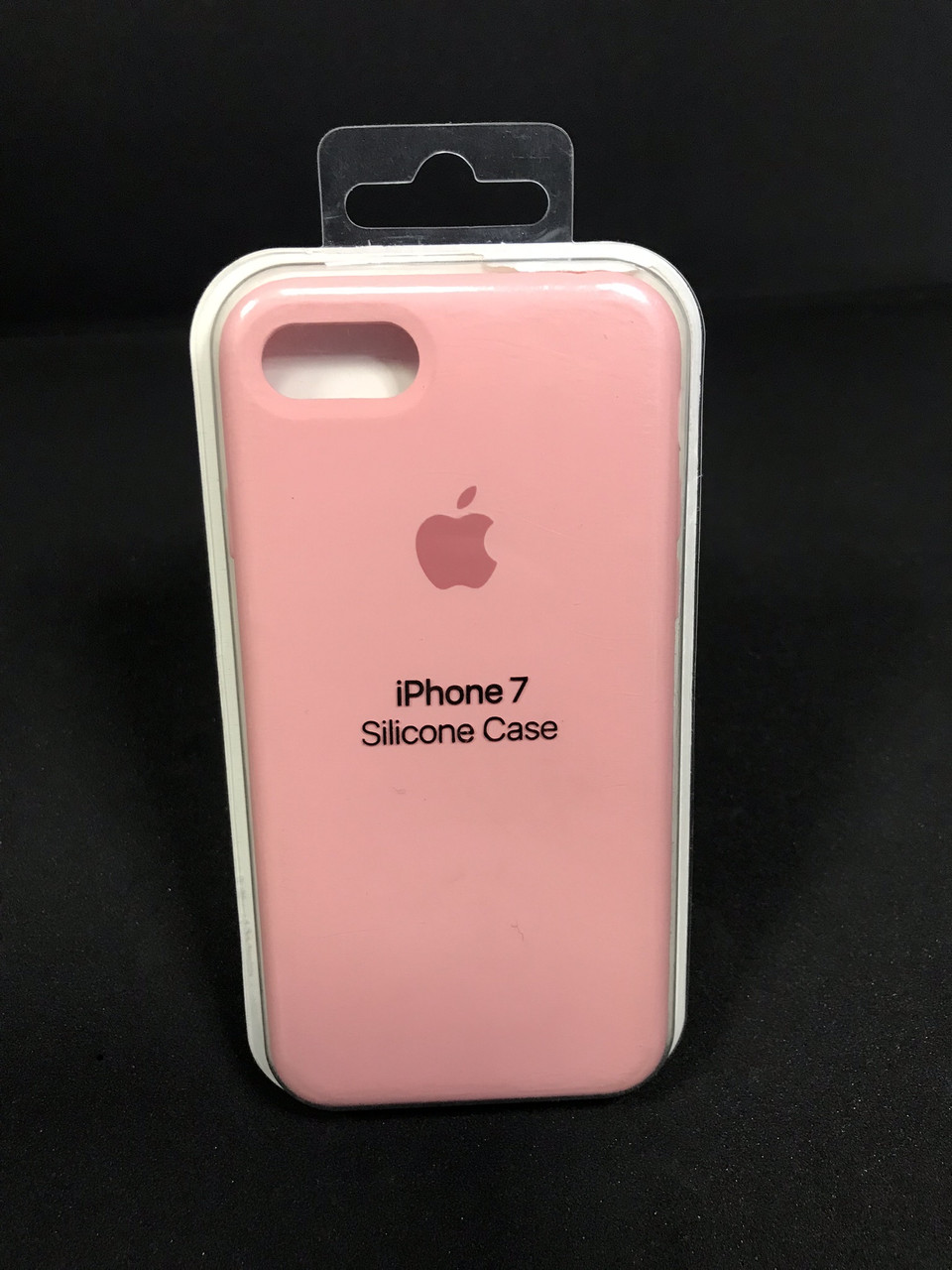 Чехол накладка Case защитный бампер для телефона Iphone 7 Soft touch Розовый