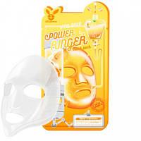 Витаминизированная тканевая маска для повышения упругости лица ELIZAVECCA VITA DEEP POWER RINGER MASK PACK