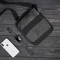 Стильная сумка через плечо, барсетка Calvin Klein, CK кельвин. Черная