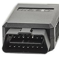 Диагностический автомобильный сканер Lesko OBD2 ELM327 v2.1 Wi-Fi адаптер OBD-II универсальный для авто Черный (1162-10566a)