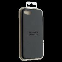 "Чехол Silicon iPhone 8 Plus - ""Черный №18"""