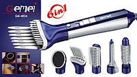 Профессиональный фен для сушки волос 6 в 1 Gemei GM-4834 | воздушный стайлер для укладки волос, фото 1