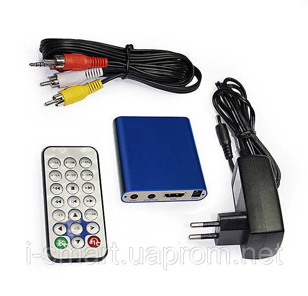 Медиаплеер mkv full hd 1080p (синий, белый)