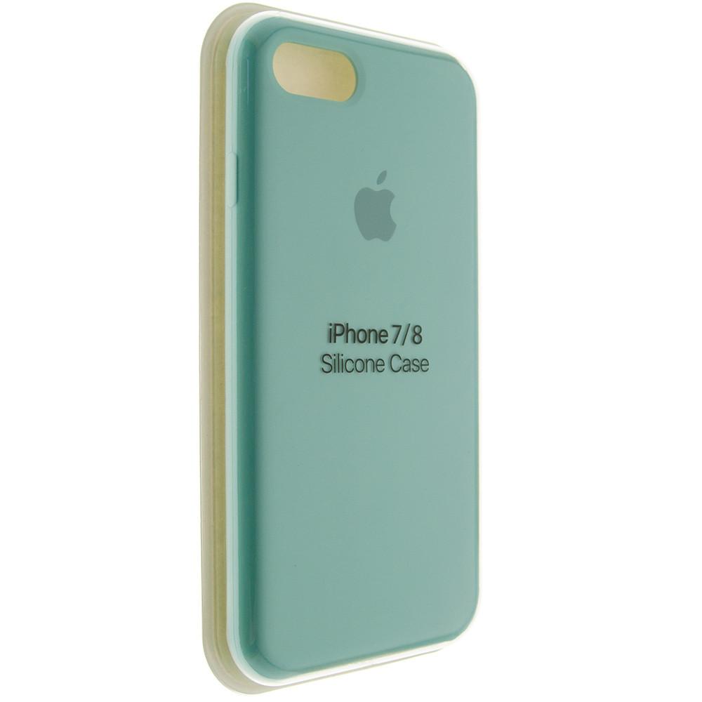"Чехол Silicon iPhone 8 Plus - ""Зеленая лагуна №21"""