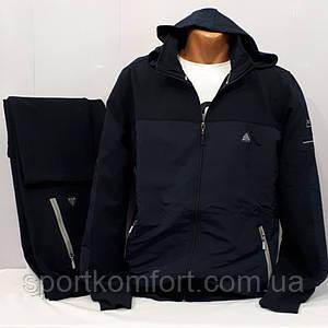 Мужской спортивный костюм, Турция, Soccer, тёмно-синий, 70 хлопка, обмен/возврат, размеры м, л, хл, 2хл.