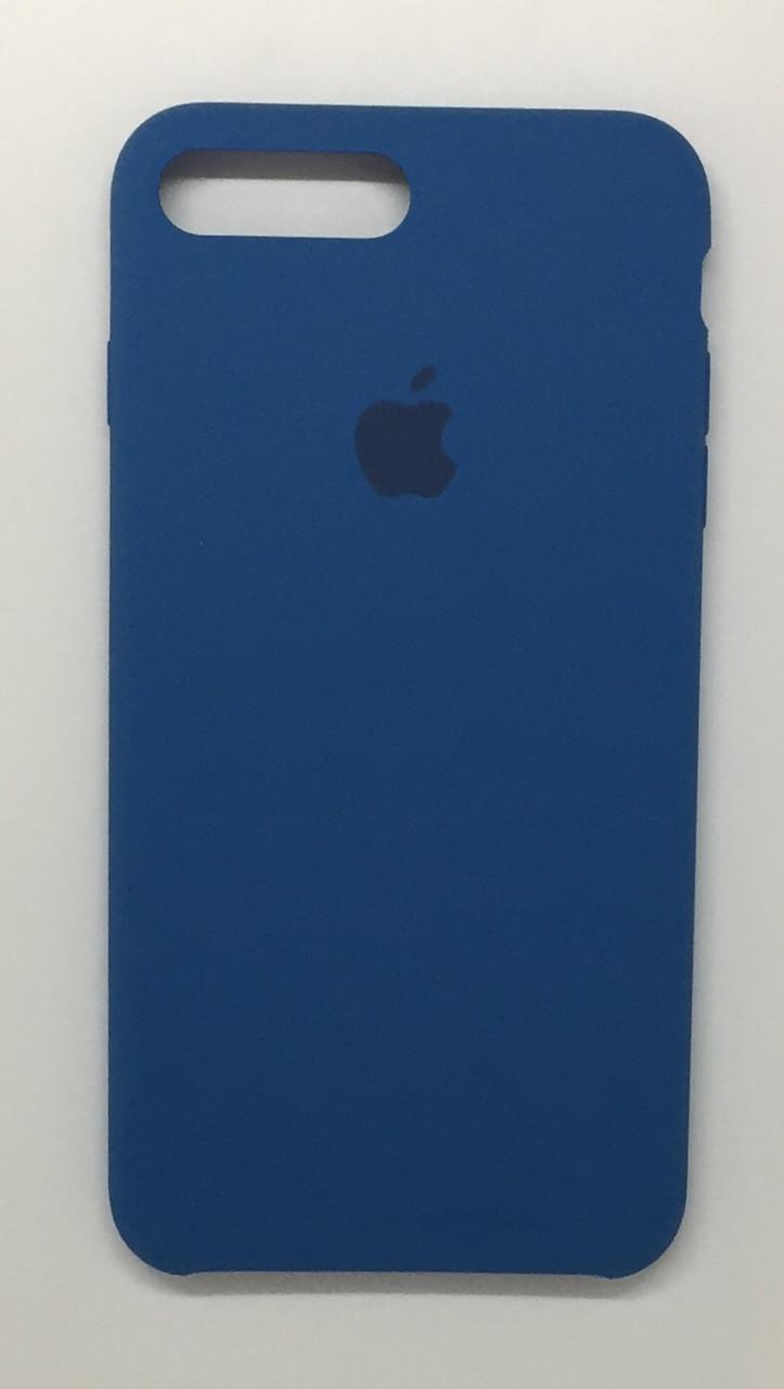 """Чехол Silicon iPhone 8 Plus - """"Джинсовый №38"""""""