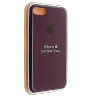 """Чохол Silicon iPhone 8 Plus - """"Марсала №52"""""""