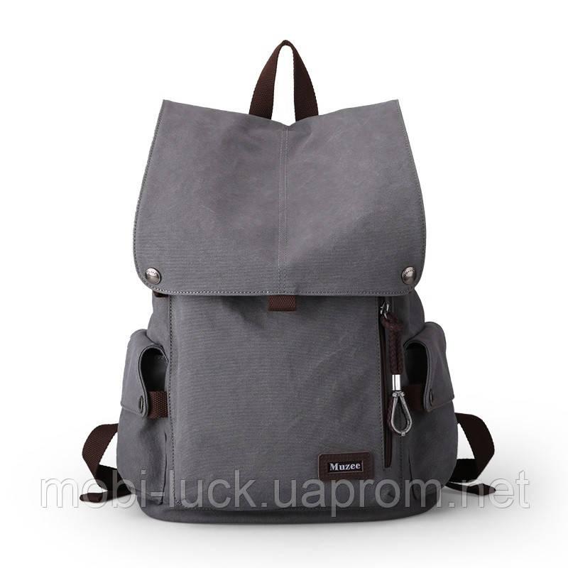 Городской рюкзак Muzee Retro VA1033 Grey violet