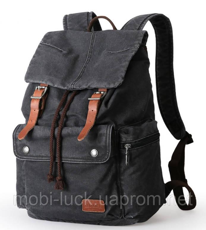 Городской рюкзак Muzee 1693 Rock Black