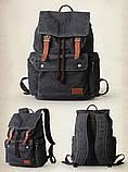 Городской рюкзак Muzee 1693 Rock Black, фото 2