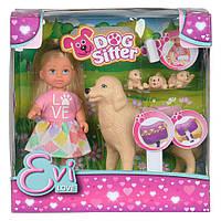 Кукольный набор Эви няня для щенков