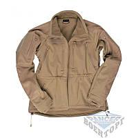 Куртка SOFTSHELL JACKE MIL-TEC PLUS COYOTE