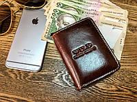 Бумажник Wild - Things Only, мужской из натуральной кожи