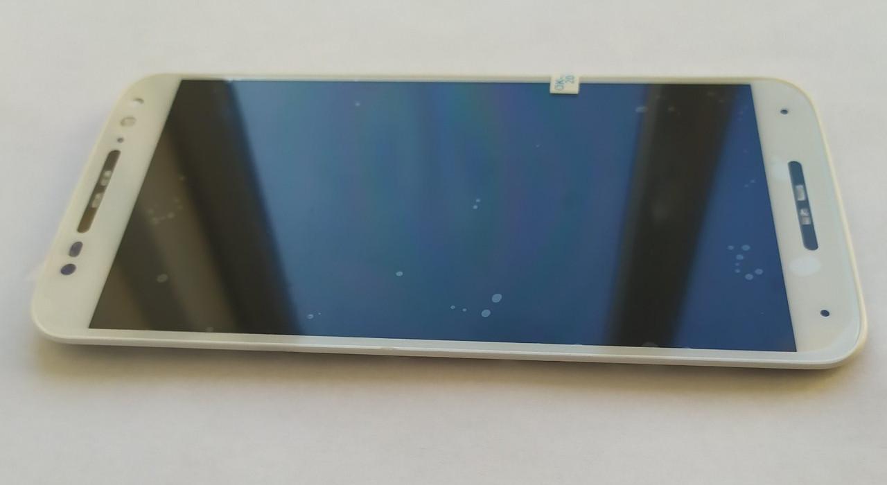 Модуль (дисплей + сенсор) для Motorola XT1570 / XT1572 Moto X Style + Frame White