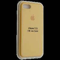 "Чехол Silicon iPhone 7 Plus - ""Желтый №4"""