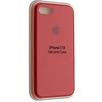 """Чехол Silicon iPhone 7 Plus - """"Темно-терракотовый №14"""""""