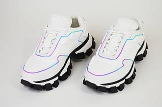 Кроссовки женские белые 10888, фото 2