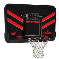 Щит баскетбольный игровой Basketball NBA Hoop 108х73 см с кольцом 49 см и сеткой (80798CN), фото 1