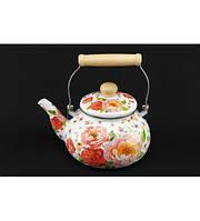 0969 Чайник эмалированный 2,5 л оптом, фото 1