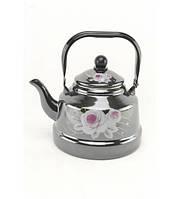 1343 Чайник эмалированный 2,5 л оптом, фото 1