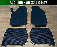 ЕВА коврики на Audi 100 / A6 C4 '91-97. Ковры EVA Ауди 100 А6 С4, фото 1