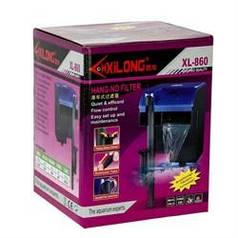 Xilong XL-860 Навесной фильтр для аквариума, 450 л/ч, 5 вт ( до 60 л )