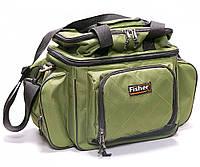 Рыболовная сумка Fisher для снастей 32х24х33 см