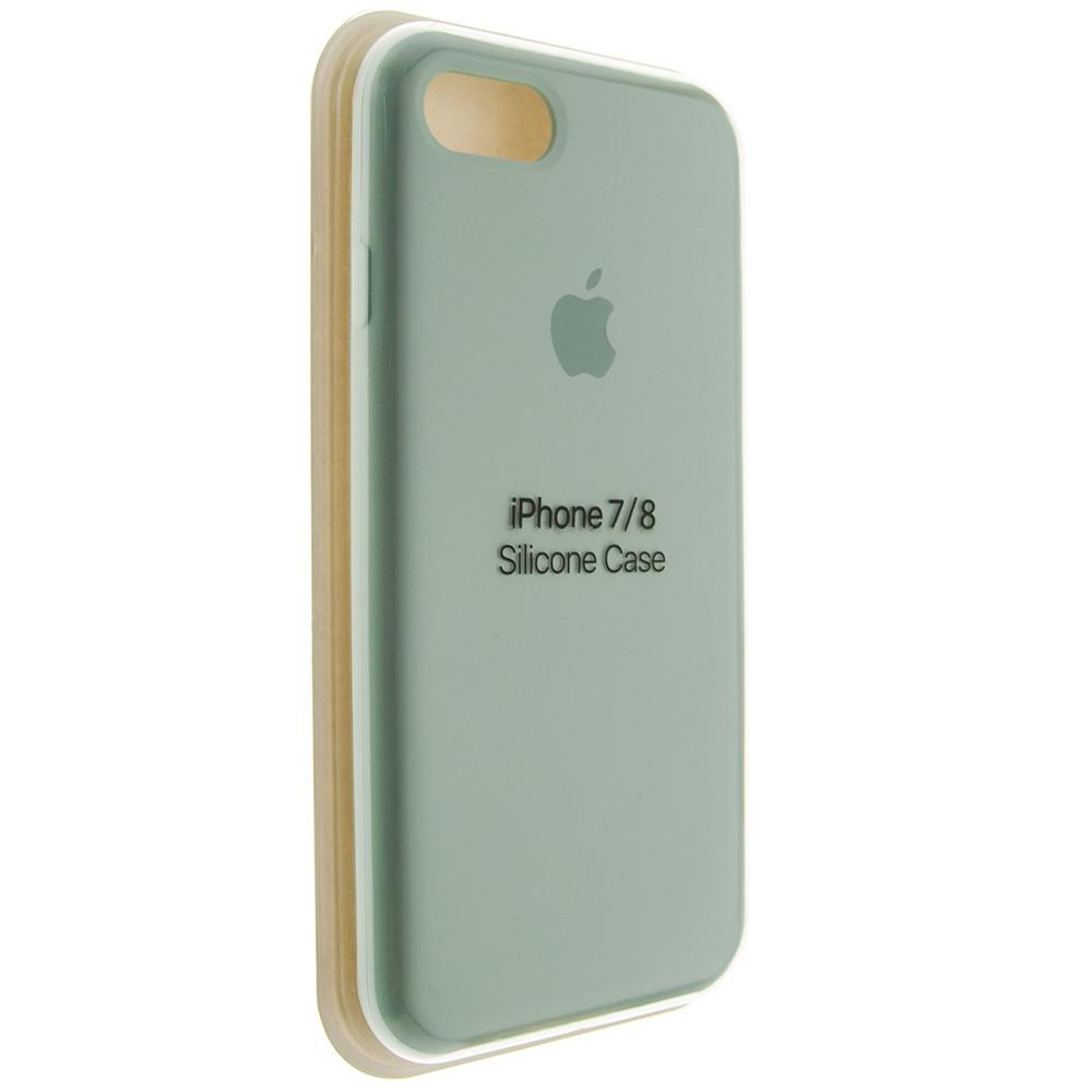 """Чехол Silicon iPhone 7 Plus - """"Бирюзовый №17"""""""